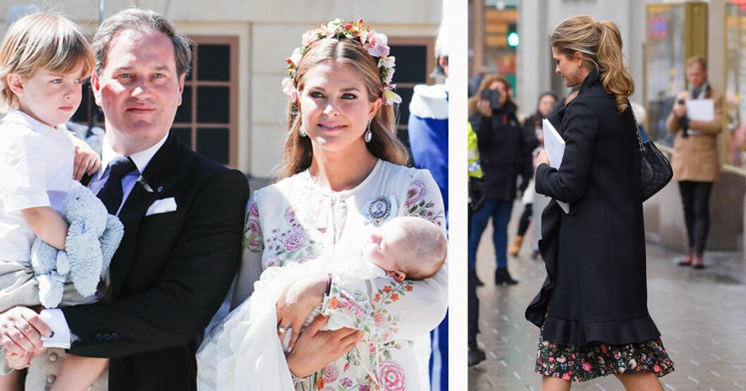 Prinsessan Madeleine ensam i Sverige 2019