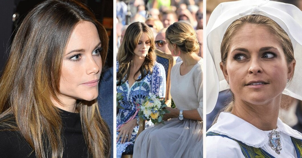Prinsessan Sofia och Madeleines verkliga relation