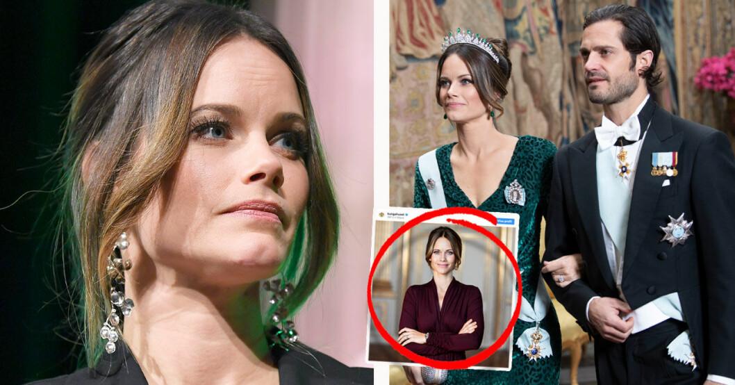 Hovets bild på prinsessan Sofia 35 år