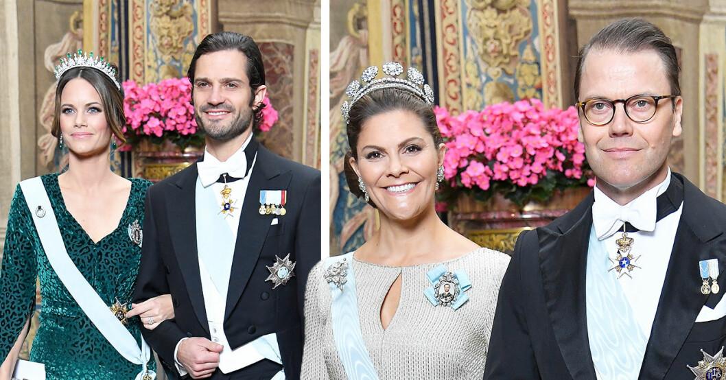Sanningen bakom kronprinsessan Victoria och Sofias annorlunda klädval på kungens middag