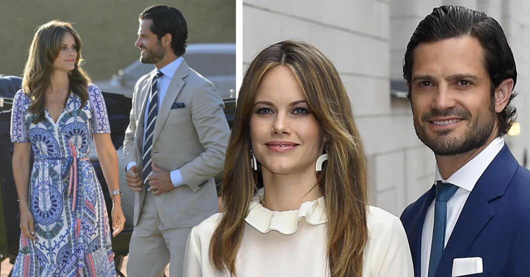 Prins Carl Philip och prinsessan Sofia är på kärleksresa på Gotland.