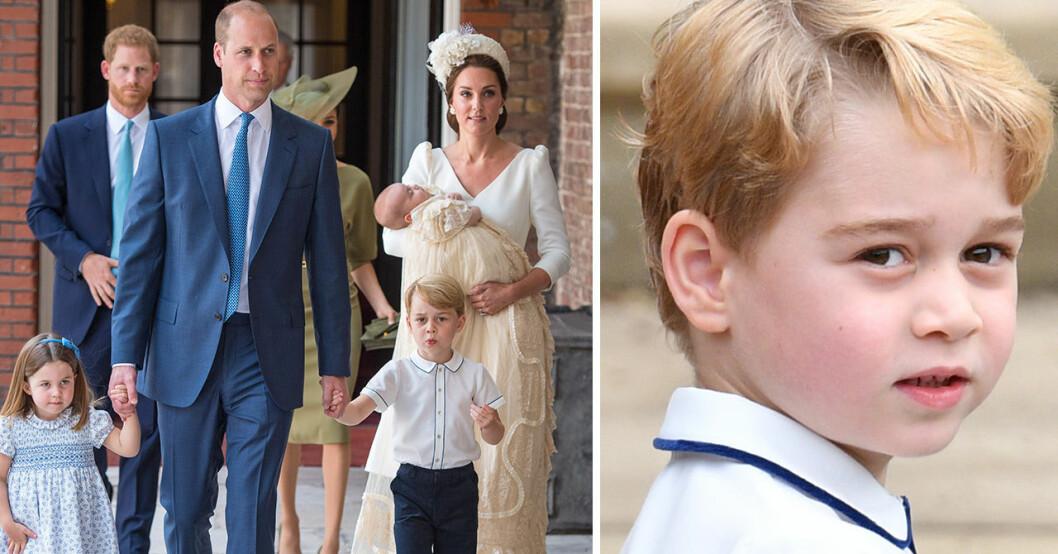 Därför berättar inte Prins William och Kate Middleton för prins George att han ska bli kung.
