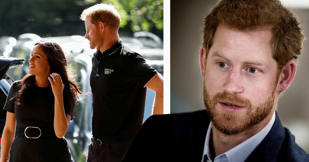 Prins Harry och Meghan Markle efter Archies födsel