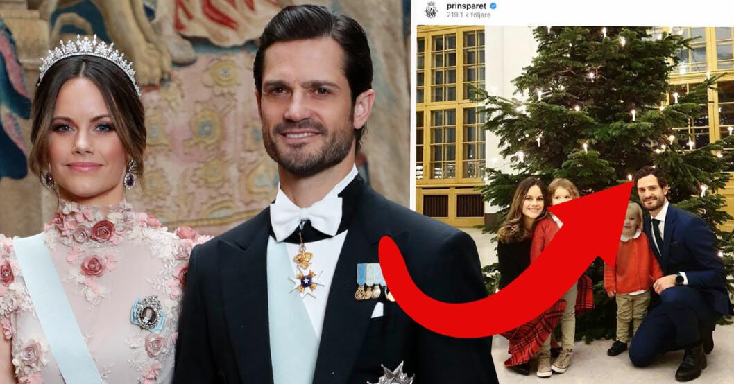 Prinsparets nya bild på Alexander och Gabriel