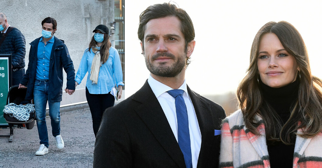 Prins Carl Philip, prinsessan Sofia