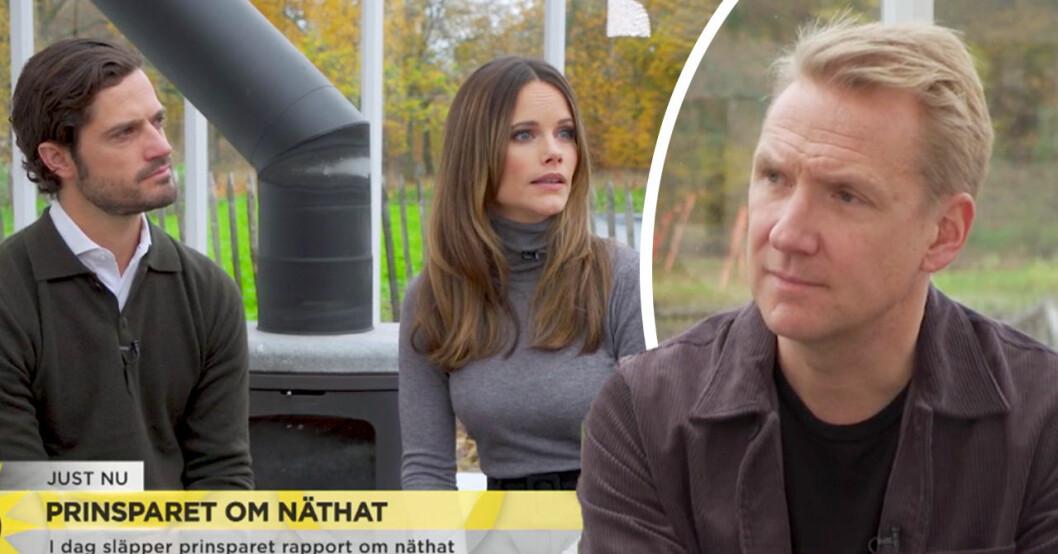 Prinsparet talar ut om viktiga uppdraget i TV4:s Nyhetsmorgon