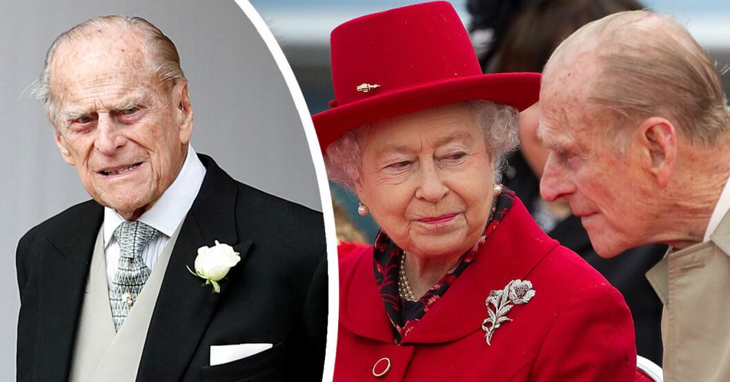 Prins Philip är inlagd på sjukhus.
