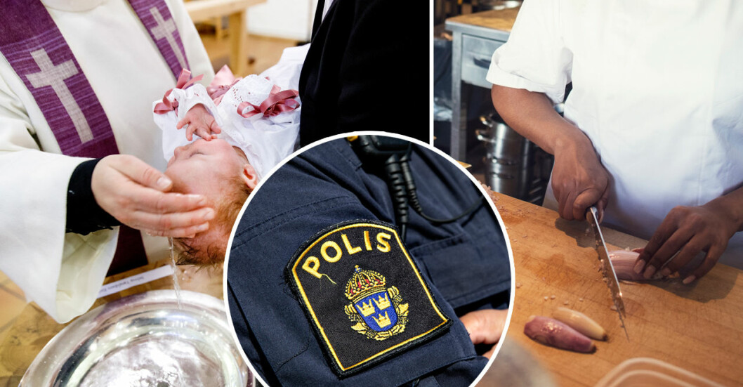 Här är jobben som verkar dra till sig psykopater: Polis, präst och kock.