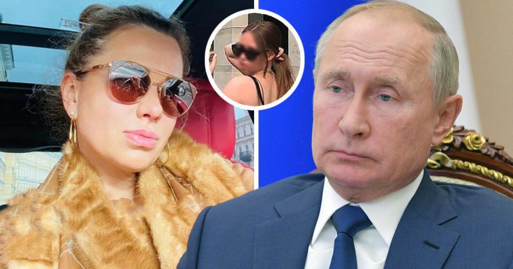 Vladimir Putin, Svetlana Krivonogich och påstådda dottern Elizaveta.