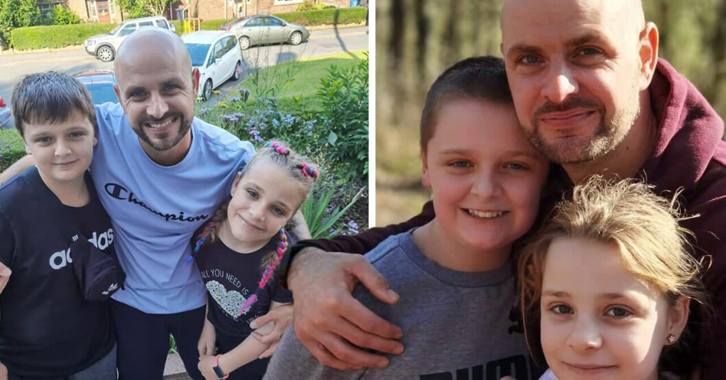 Pappan i svår sorg – döttrarna och mamman mördade på pyjamasparty