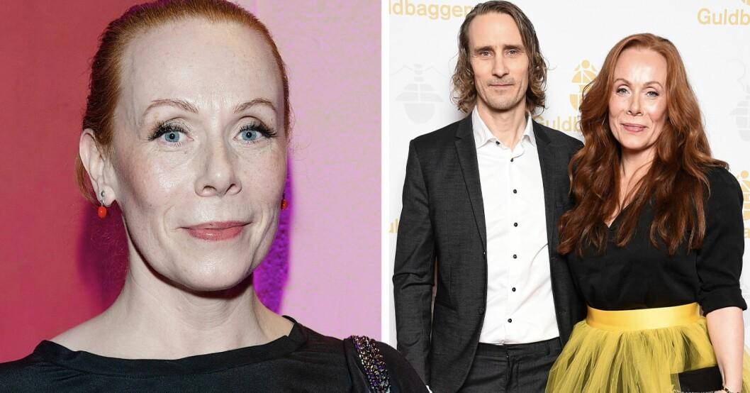 Rachel Mohlin och pojkvännen Håkan Messing