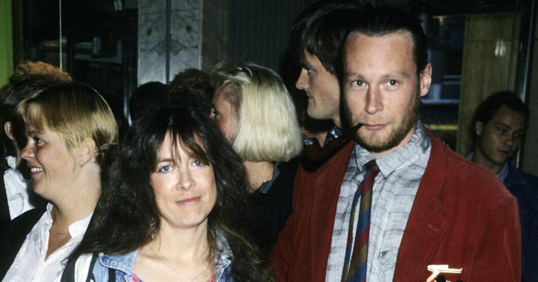 Lotta Ramel och Johan H:son Kjellgren 1995.