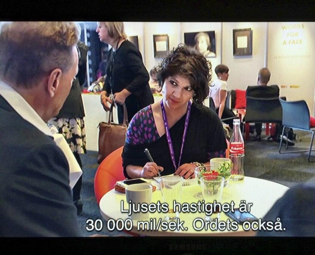 "Bokmässan 2014 Sofia Hadjipetri Glantz Björn ranelid på ""Babel"" 28 september"