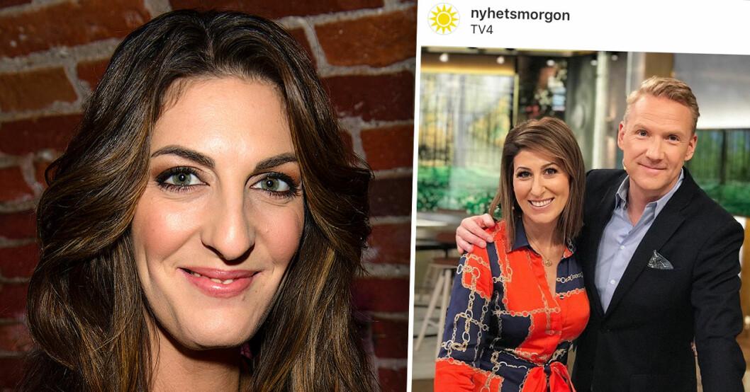 Rania Shemoun Olsson i Nyhetsmorgon istället för Soraya