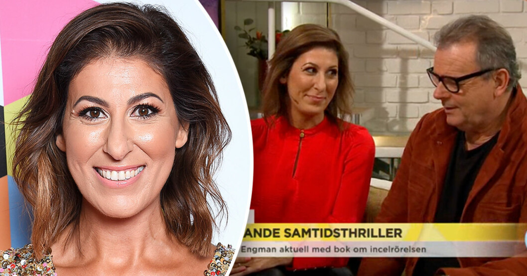 Rania Shemoun Olsson i Nyhetsmorgon