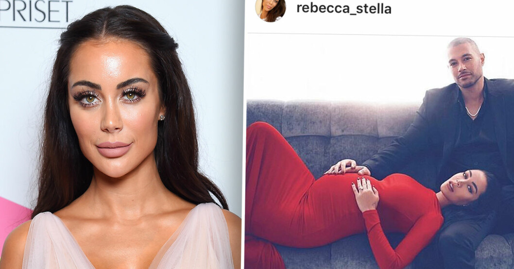 Rebecca Stellas nya barnbesked