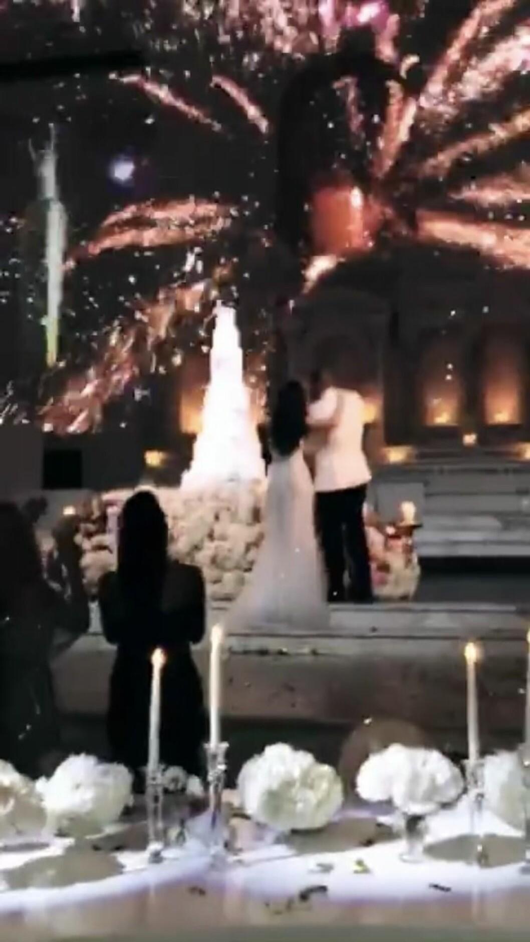 Rebecca Stella gifter sig med Manny Dion