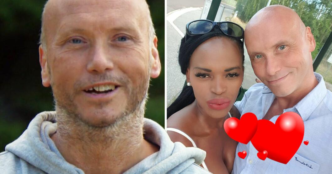 Richard Andersson och frun Tova.