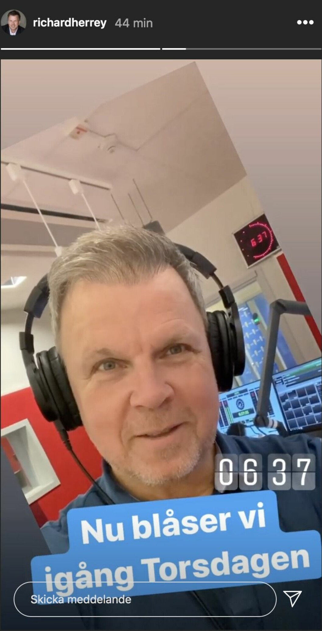 Richard Herrey på Instagram