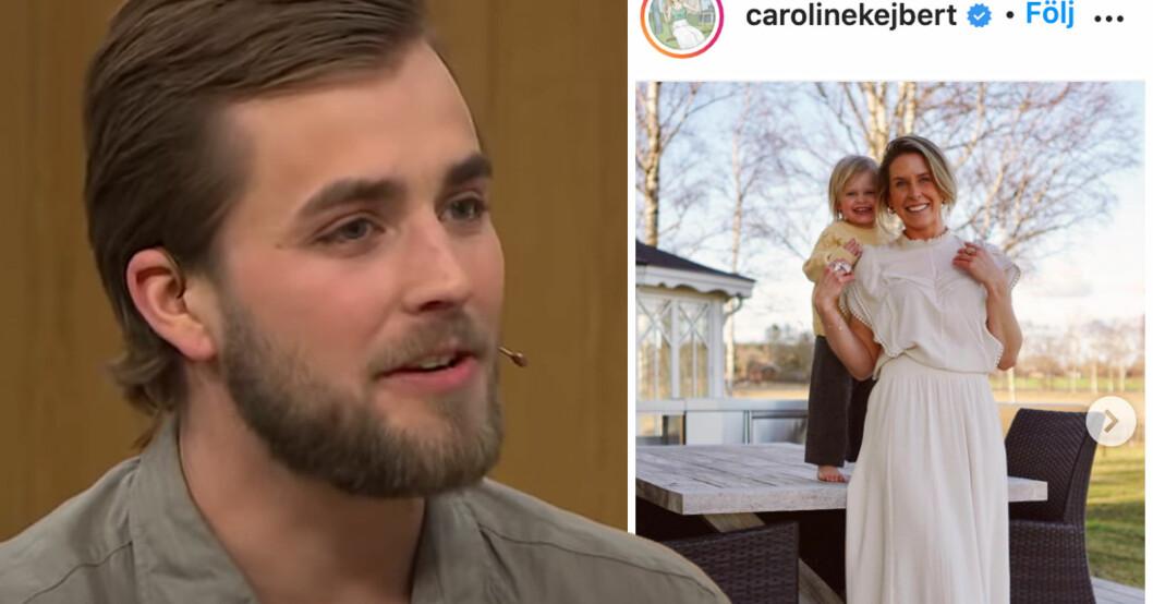 Joacim Rickling och Caroline