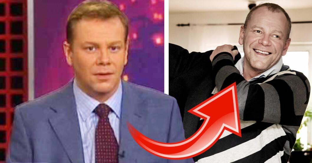 Rickard Palm var nyhetsuppläsare i SVT:s Rapport