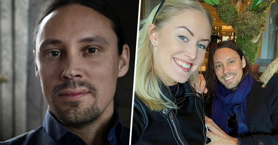 Robinson-Robban Andersson och flickvännen Simone Brandstedt.