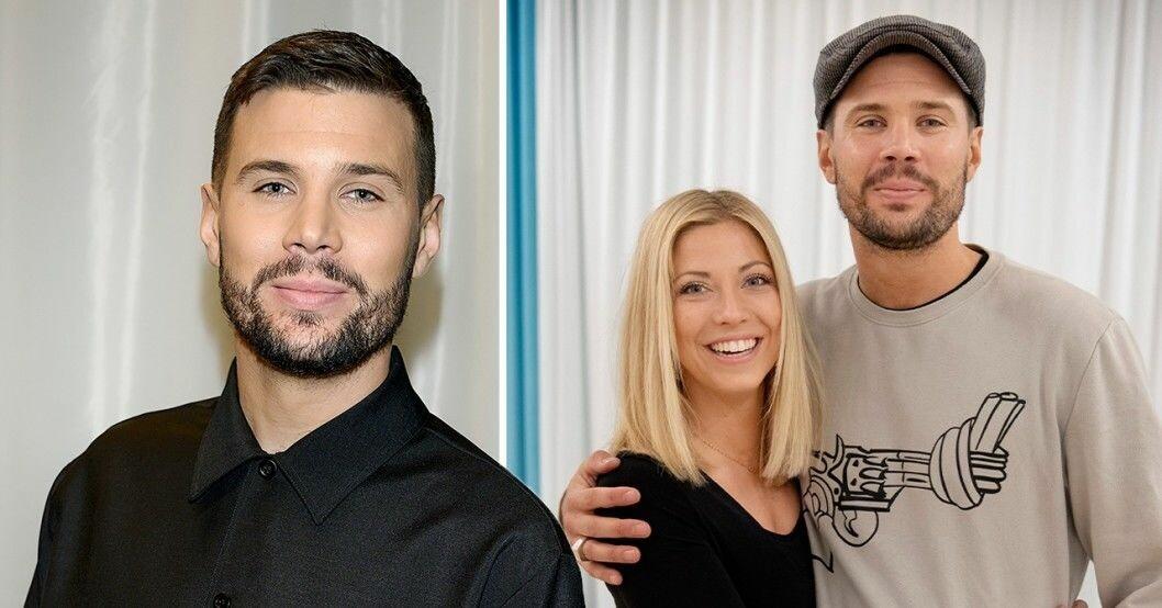 Robin Bengtsson och Sigrid Bernson