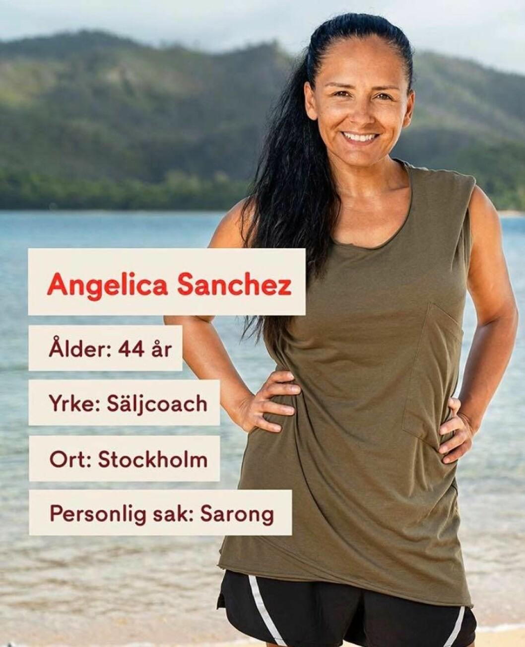 Angelica Sanchez i Robinson 2020