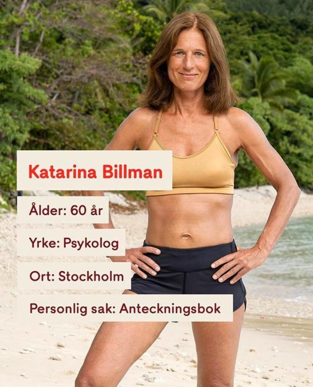 Katarina Billman i Robinson 2020