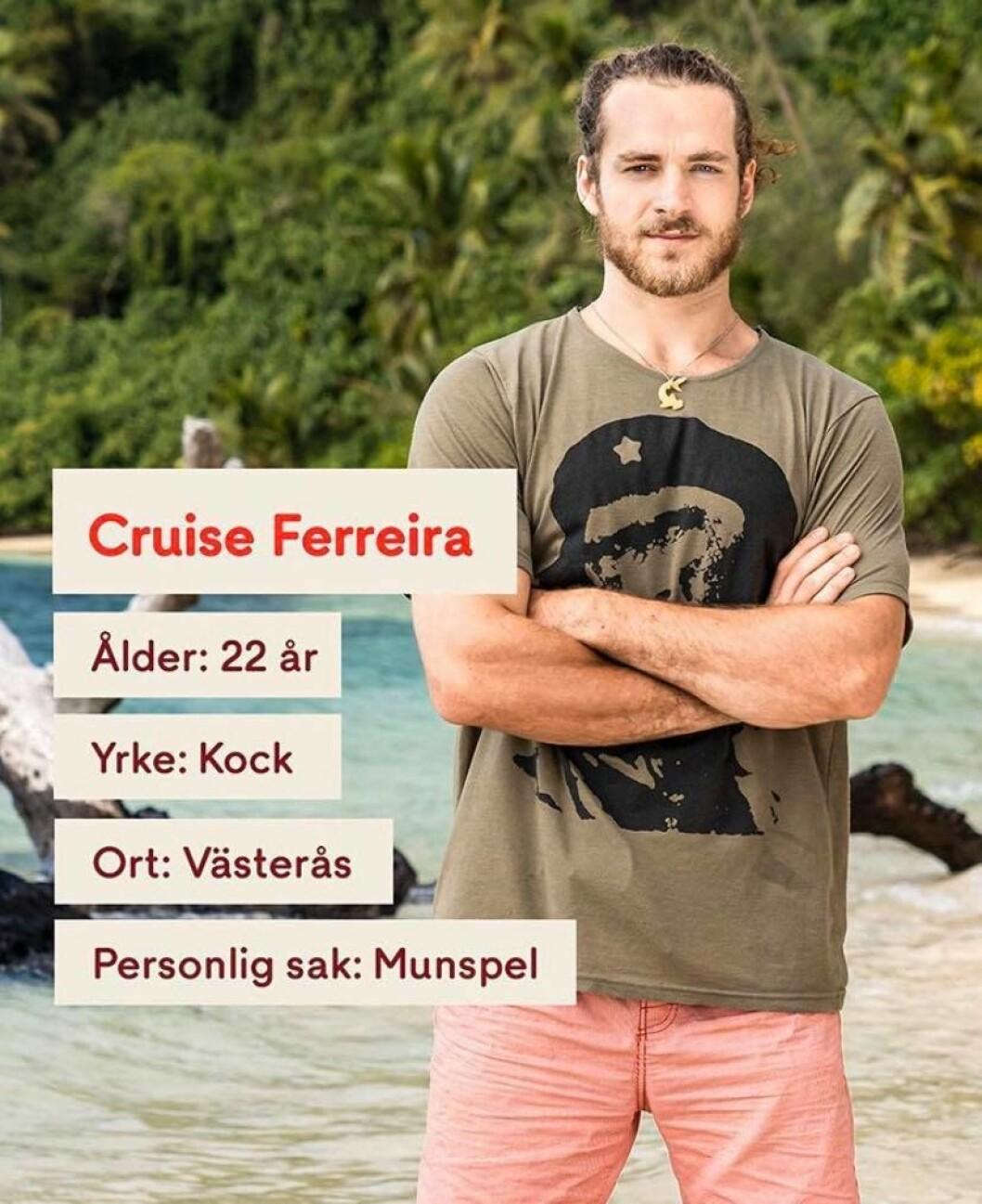 Cruise Ferreira i Robinson 2020
