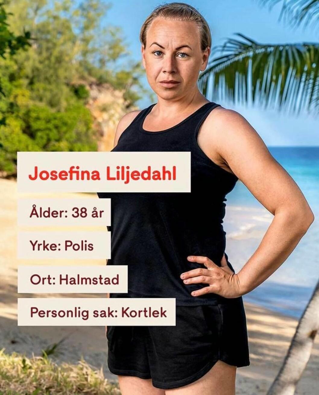 Josefina Liljedahl i Robinson 2020