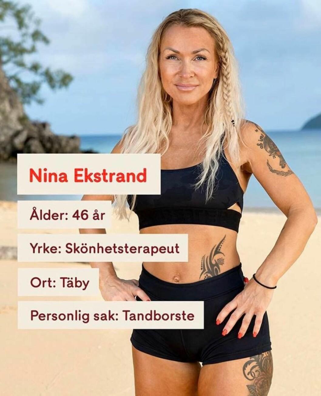 Nina Ekstrand i Robinson 2020