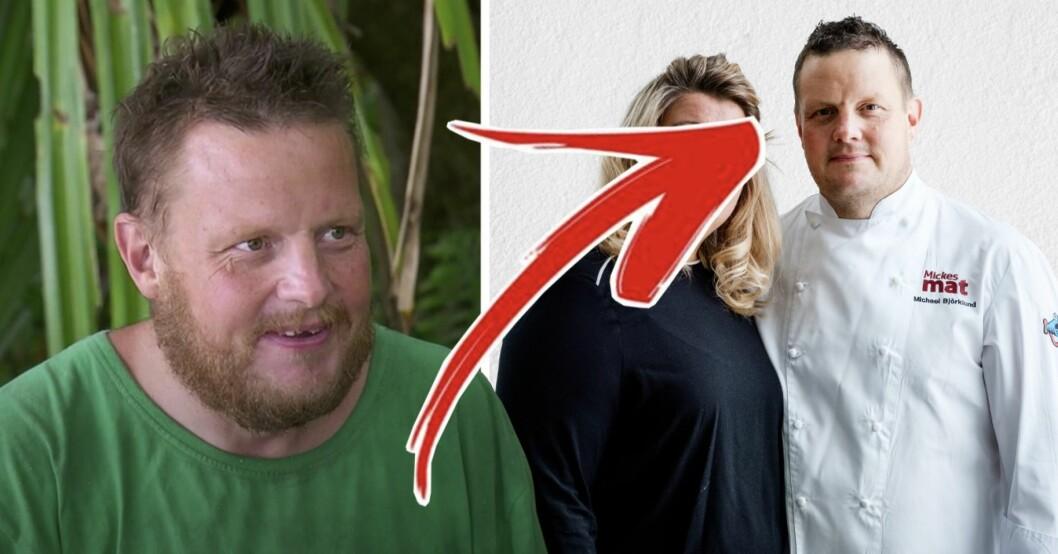 Efter tårarna i Robinson – så ser Michael Björklunds fru ut