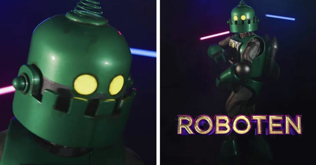 Vem döljer sig under masken Roboten i Masked singer Sverige