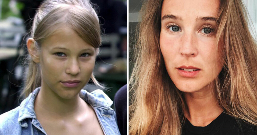 Rosanna Munter spelade Petra i Eva & Adam.