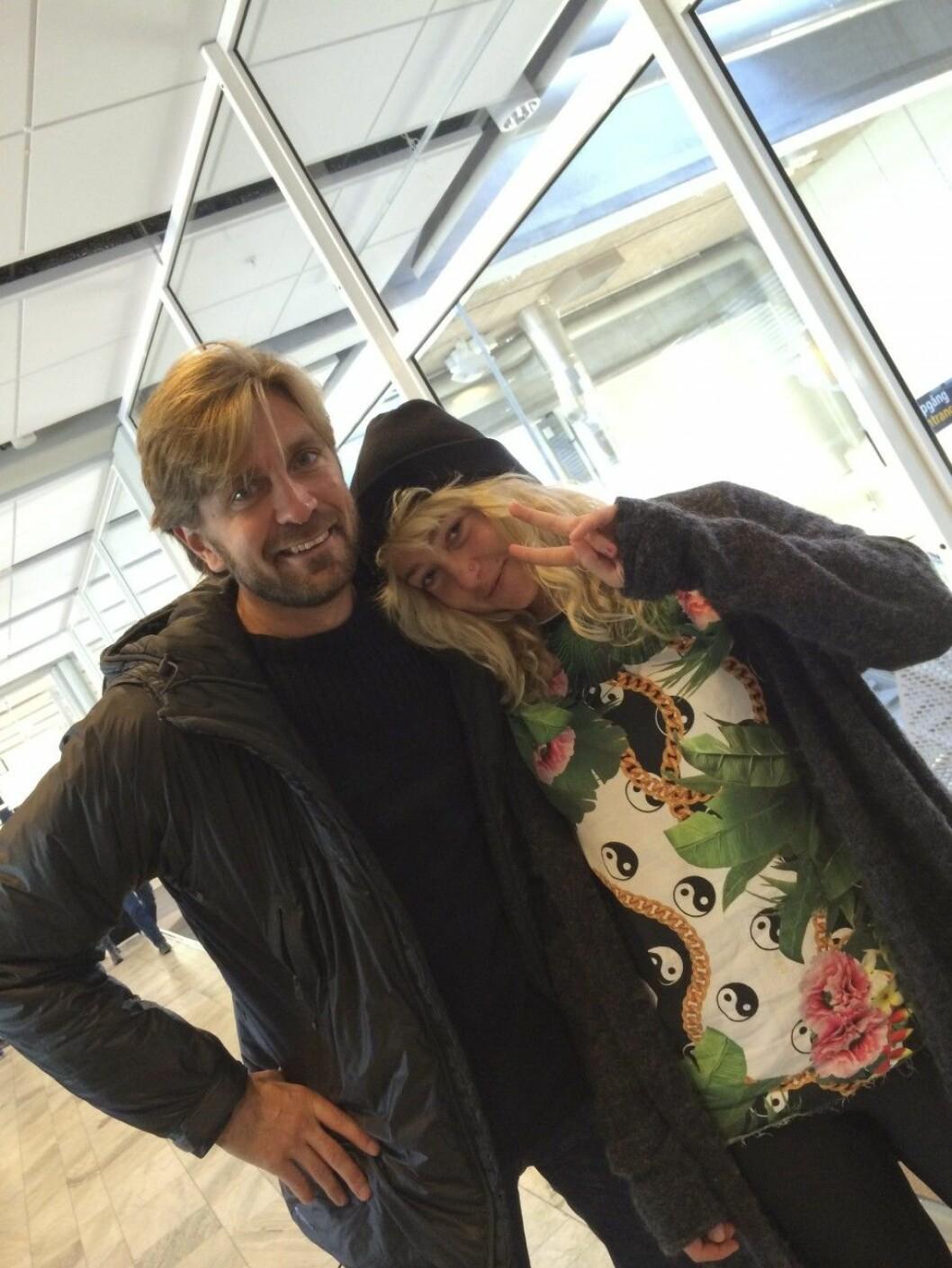 Ruben Östlund och Fanni Metelius lämnade Göteborg för en filmfestival på Island.