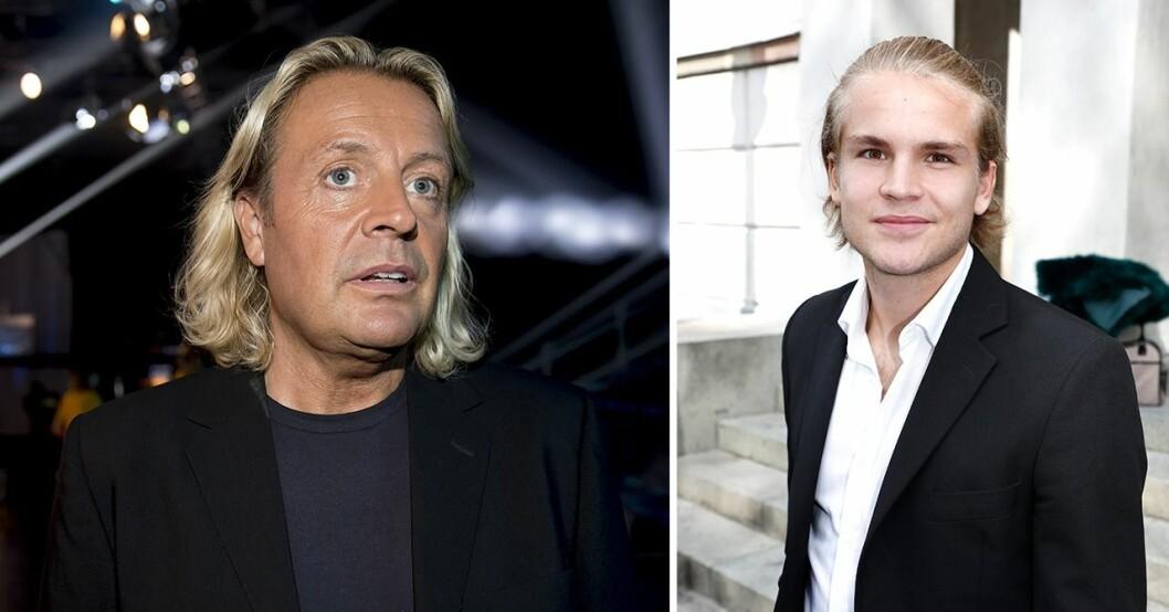 Runar Söögard och sonen Amadeus