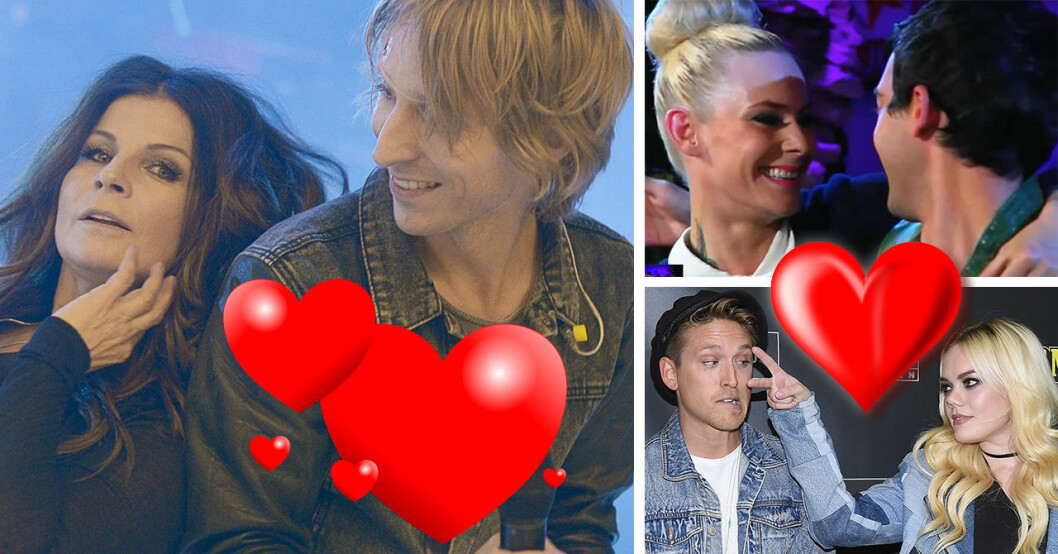 Carola Häggkvist, Love Antell, Maja Ivarsson, Darin Zanyar, Danny Saucedo och Little Jinder i Så mycket bättre.