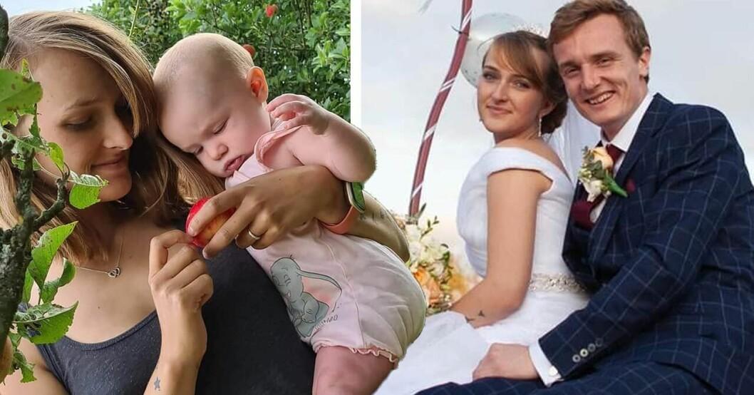Samantha Clarke, Ava och Christian Clarke