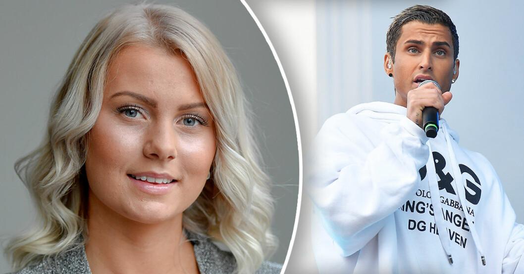 Samir Badran och Erica Lindberg