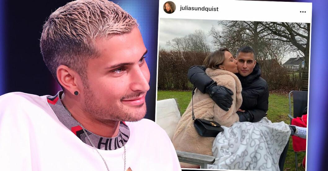 Julia Sundquist om kärlekslyckan med Samir Badran
