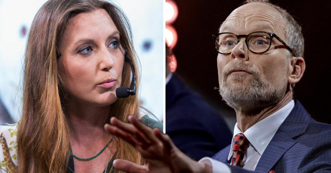 Sanna Lundell i På spåret.