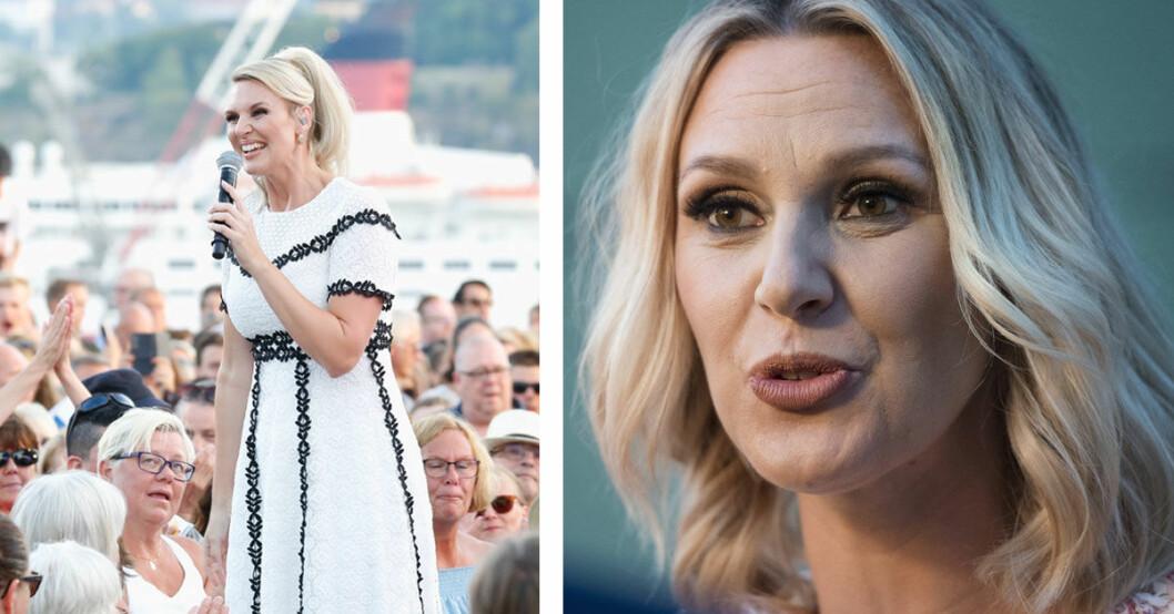 Sanna Nielsens liv efter allsång på skansen 2018