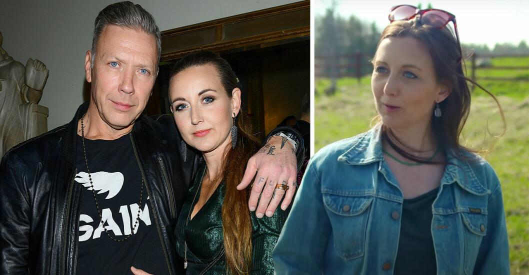 Sanna Lundell och Mikael Persbrandt.