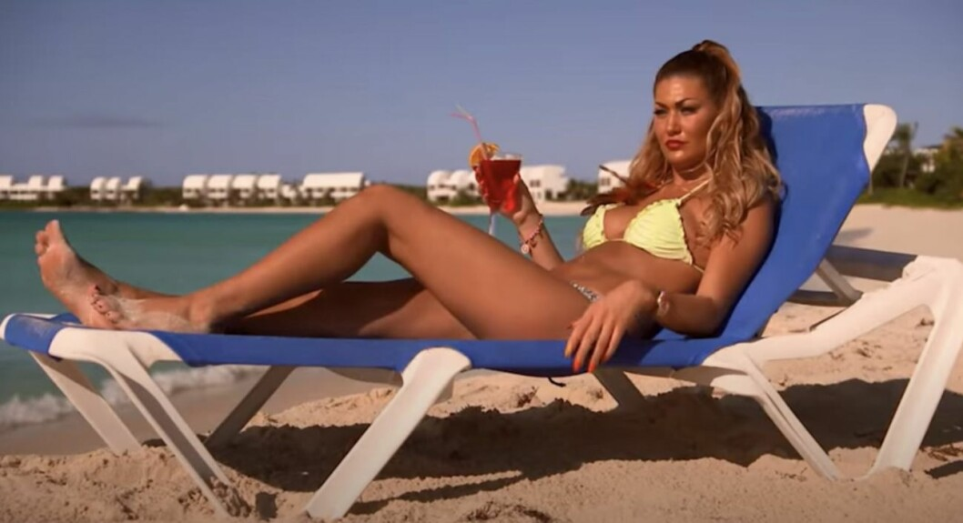 Sara Bolay i Ex on the beach 2015