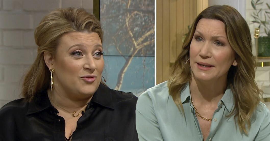 Sarah Dawn Finer och Jenny Alversjö