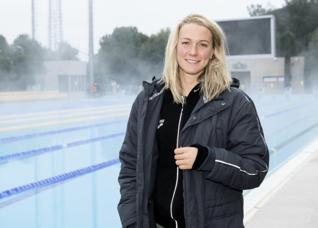Sarah Sjöström i Superstars på hemmaplan