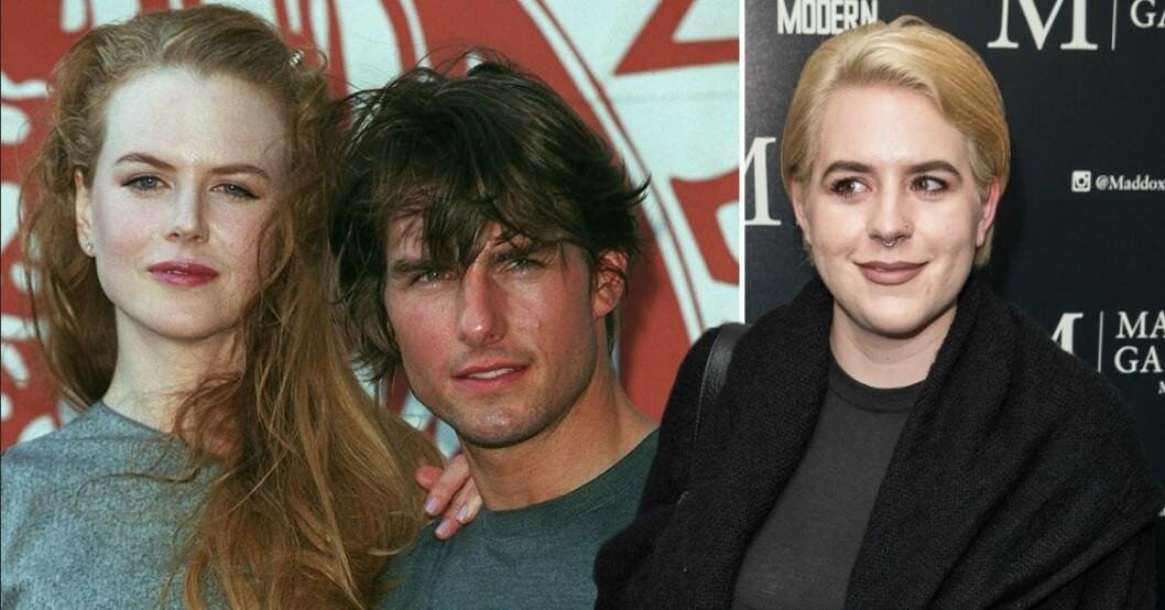 Nicole Kidman, Tom Cruise och Isabella Kidman Cruise