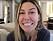 Bianca Ingrosso visar upp resultatet av tandregleringen i sin vlogg.