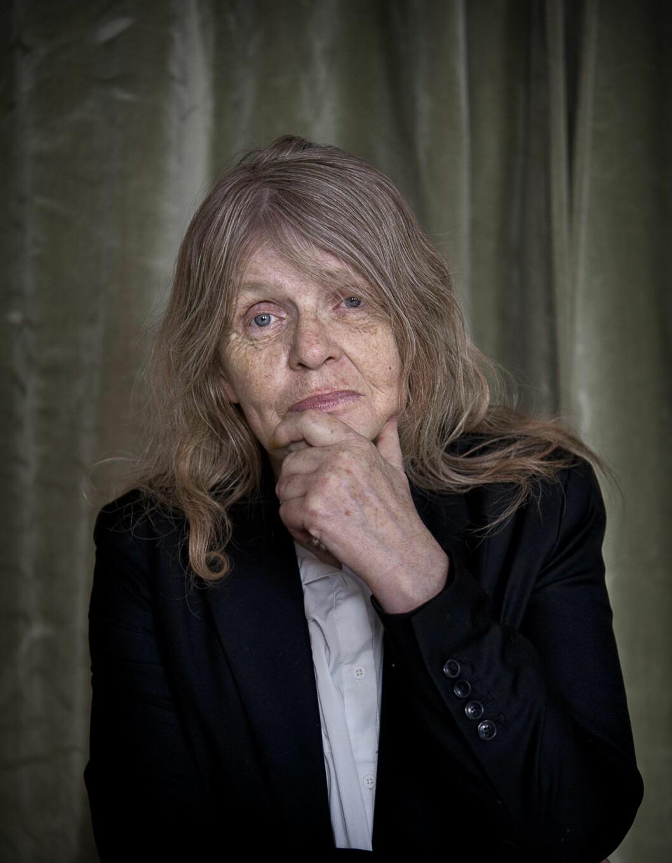 Kristina Lugn var dramatiker, poet och konstnärlig ledare.